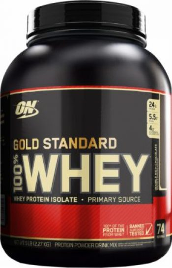 Optimum Nutrition Gold Standard 100 Whey 5 Lbs Double Rich Chocolate Bodybuildingforless Com